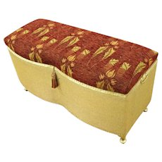 Victorian Style Hall Bench Trunk Settee Sofa Loveseat Storage Table Ottoman Bed