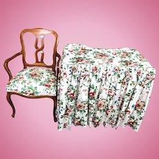 Rare Antique 1920s Stickley Era Langslow Vanity Table Chair Side Bedroom Set