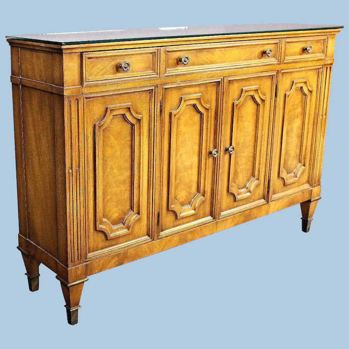 Mirror Top Console Sideboard Buffet