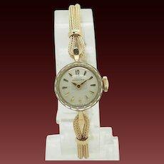 Ladies GIRARD PERREGAUX B2013 14K Yellow Gold 17j Swiss 15mm Wrist Watch