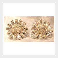 Elegant Petite Clear Rhinestone Earrings