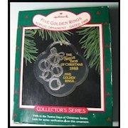 Hallmark Twelve Days of Christmas Series - Five Golden Rings