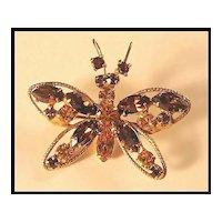 Regency Butterfly Pin