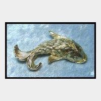 Fanciful Fish Pin by Napier