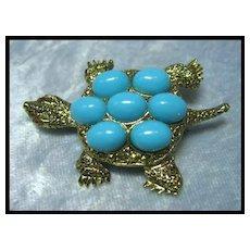 Truly Terrific Turtle Pin