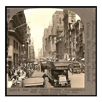 New York's Proudest Thoroughfare--Fifth Avenue