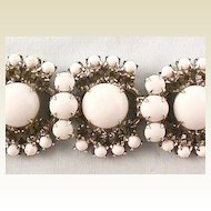 Wonderful White Juliana Bracelet DeLizza & Elster D&E