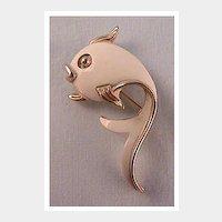 Flirtatious Fish Pin by MONET