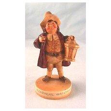 Sebastian Colonial Watchman Figure with Marblehead Label