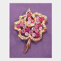 Oh So Pretty in Pink Pin Brooch