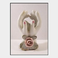 Miniature Hands Vase