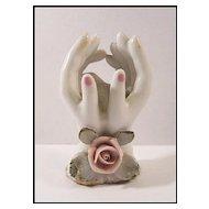 Miniature Hands Vase