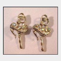 Two Lovely Ballerina Pins