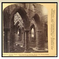 Tintern Abbey Stereo View - Underwood and Underwood