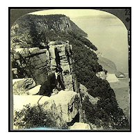 Palisades of the Hudson River - Keystone Stereo View