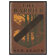 The Barrier by Rex Beach