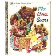The Three Bears - Little Golden Book