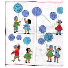 Vintage Children's Handkerchief