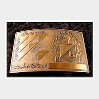 Nabisco Belt Buckle