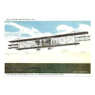 Largest Aeroplane in the U.S. Post Card