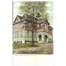 Public School, Marlboro, N.Y. Post Card