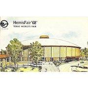 HemisFair '68, Texas World's Fair Postcard