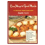 Easy Ways to Good Meals with Campbell's Soups Cookbook