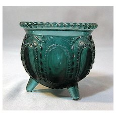 Degenhart Gypsy Pot Toothpick Holder Periwinkle