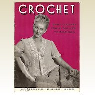 Lily Crochet Instruction Booklet 42 Designs - Book 1300