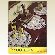 Lily Doilies Crochet Instruction Booklet Design Book No. 67
