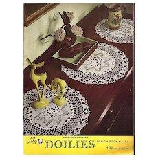 Lily Doilies Crochet Instruction Booklet Design Book No. 67