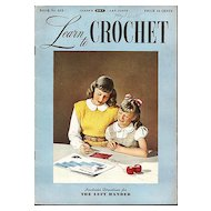 Learn to Crochet Booklet by Coats & Clark's, Book No. 233