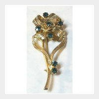 Hobe Flower Pin