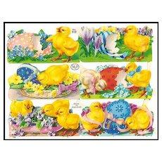Easter Chicks Die Cuts