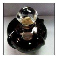 Vintage Poison Amethyst Perfume Bottle