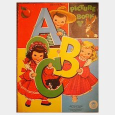 ABC Picture Book by Merrill Publishers with Illustrations by Vivian Robbins