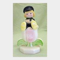 Walt Disney Productions It's A Small World Dutch Boy Figurine