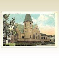 Postcard of Christian Church Ravena New York