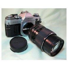 Canon AE-1 35mm Camera