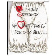Gibson Valentine's Day Card - Bloomers by Hal Rasmusson