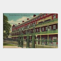Postcard of Pontalba Apartments in New Orleans Louisiana