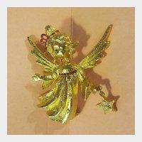 Mylu Angel with Star Christmas Holiday Pin