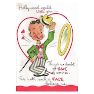 Vintage Store Stock Valentine - Not So Sweet