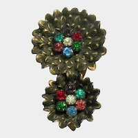 Dress Clip Beautiful Bright Stones