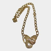 Mod Napier Enameled Long Chain Necklace