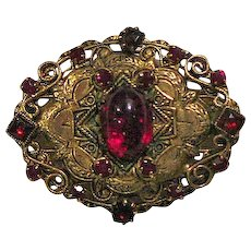Original by Robert Pin Garnet Colored Stones