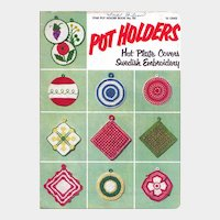 Pot Holders Crochet Booklet Star No 101