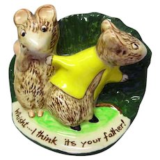 Kitty MacBride Guilty Sweethearts / Beswick Mice Figurine / Collectible Figurine / Beswick Figurine