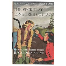 Dana Girls Mystery The Secret at Lone Tree Lodge Carolyn Keene