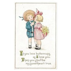 Sweetheart Postcard / Valentine Postcard / Love Postcard